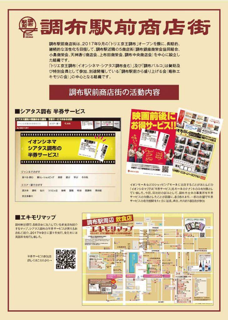 駅前商店街活動報告1